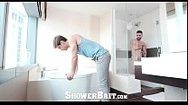 ShowerBait - Arad Gets Caught Horny In the Shower