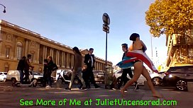 #JulietUncensoredRealityTV Season 2 Episode 73: Sex Bells in Paris &amp_ Bloody Bubble Queef @ 08:45