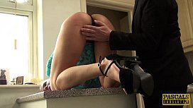 Throatfucked UK sub tiedup...
