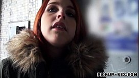 Amateur red haired Eurobabe...
