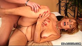 Mature whore fucked to...