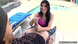 Returning Favors with Latina...