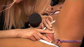Shebang.TV - Horny college girl gets her first lesson preview