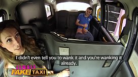 Female Fake Taxi Milf gives hung stud lessons in pussy licking and fucking