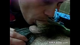 Watch porn mistress makes slave to lick her pussy