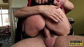 BDSM milf brit instructed...