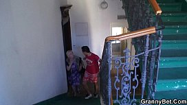 Granny gets banged by...