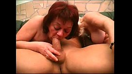 Two granny get pounded...