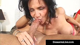 Horny Housewife Deauxma Takes...