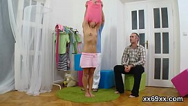 Bf assists with hymen physical and shagging of virgin girl
