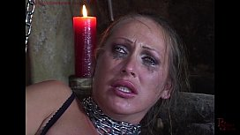 Mandy Bright chained and...