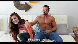 MyVeryFirstTime - Alex Mae struggles with her first ever anal penetration