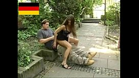 German Teen fucks in...