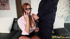 Lusty lawyer Skylar Snow...