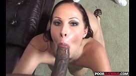 Poor Cuckold Watching Gianna Michaels With Two Big Black Cockscks