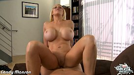Chesty blonde babe Candy Manson take cock xnxx image
