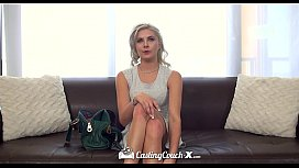 CastingCouch-X - Little blonde...