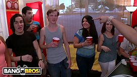 BANGBROS - College Party Gets...