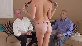 BLUE PILL MEN - Australian Teen Zara Ryan Fucked By An Old Guy In Front Of His Friend