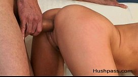 Holly Wellin gets her...