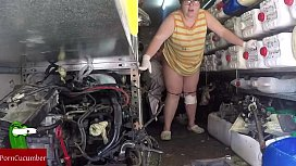 Hidden camera in the mechanic