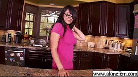Alone Girl Please Herself In Front Of Camera movie-26