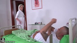Blonde nurse got DPed...