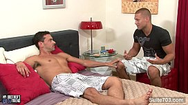 Sexy gay gets anally...