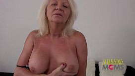 Naughty Mature Whore Cums...
