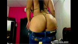 Super hot Latina with fat ass big tits and a nice wet pink pussy