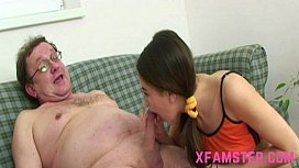 Facial cum on teen...
