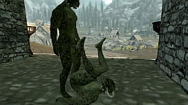 Argonian gay sex (Skyrim)