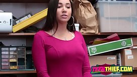 Amazing Karlee got pounded in the office
