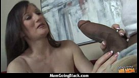 Mature Lady in Interracial Amateur Video 21