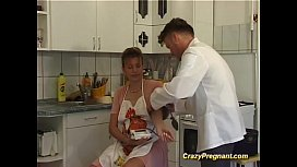 Pregnant housewife fucked...