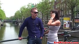 Amsterdam whore fucked and...