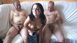 Old Guys Gangbang Innocent...