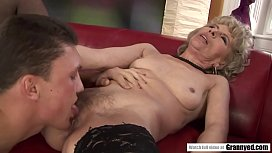 Mature woman and her young lover