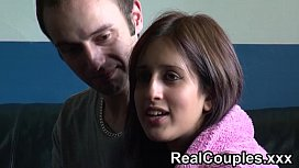 Real couple Zarina and...