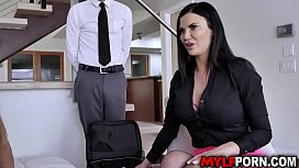 Ever gorgeous MILF Jasmine Jae is ready to share her youthful secret in front of her friends. She keeps alive and young by fucking with her stepson.