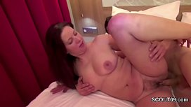 Hot MILF Seduce Young...