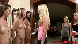 Pussylicking college teens in...