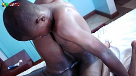 African Twink Getting Railed...