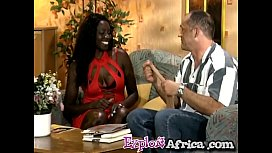 Big ass African footjobs...