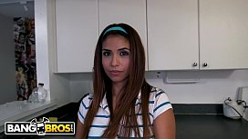 BANGBROS - Innocent Latina Maid...