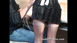 Amateur french maid analyzed...