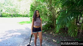 Gorgeous young Latina tricked...