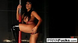 Strip club performance by Indian bombshell Priya Rai