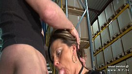 Horny french mature mom...