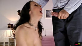 Classy milf fucked after...